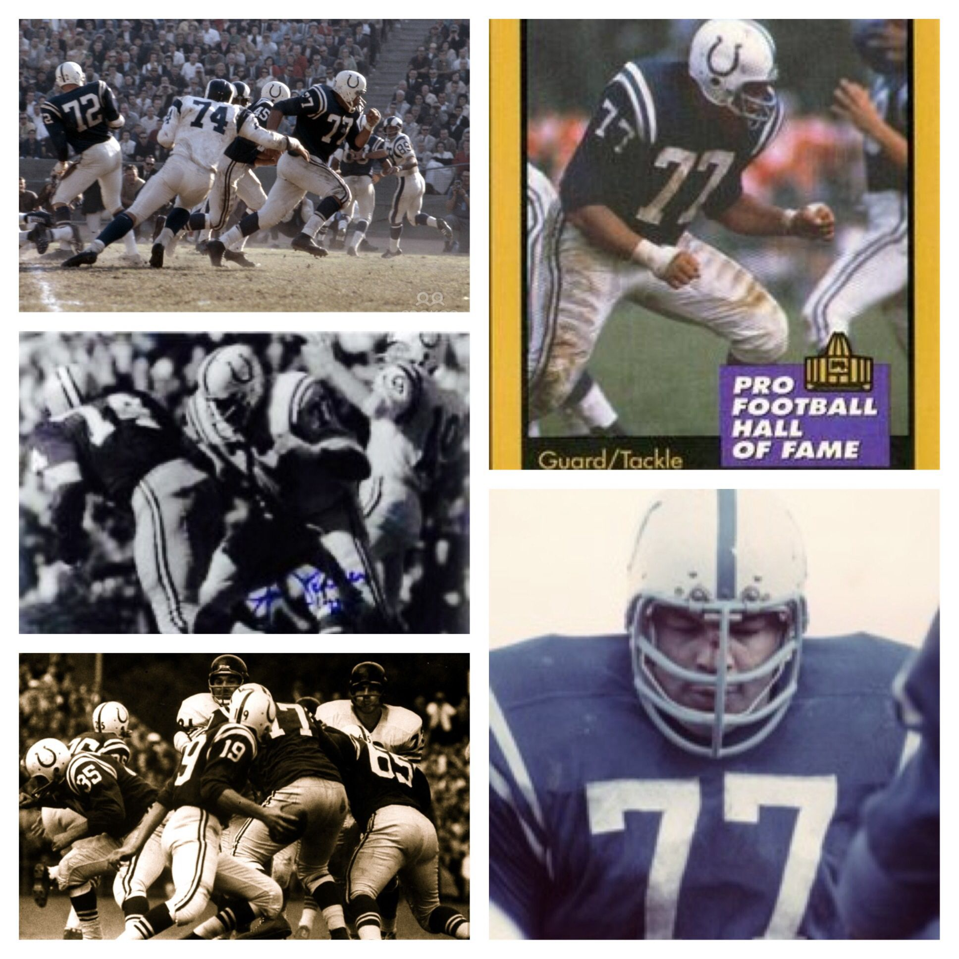 Jim parker was one of the greatest offensive lineman in
