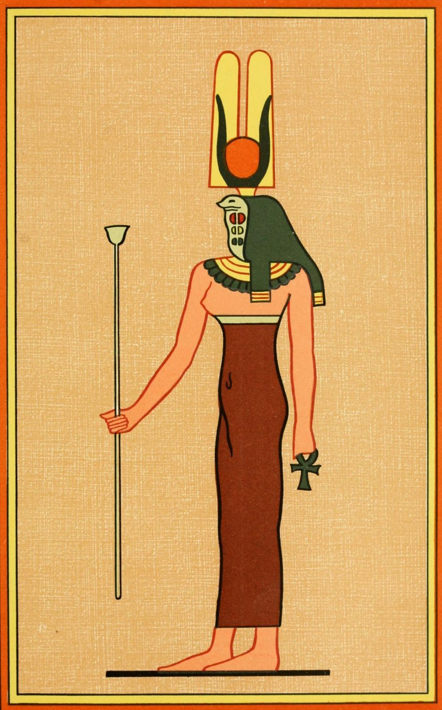 The gods of the egyptians 1904 the goddess rennut egypt god egyptian biocorpaavc Gallery