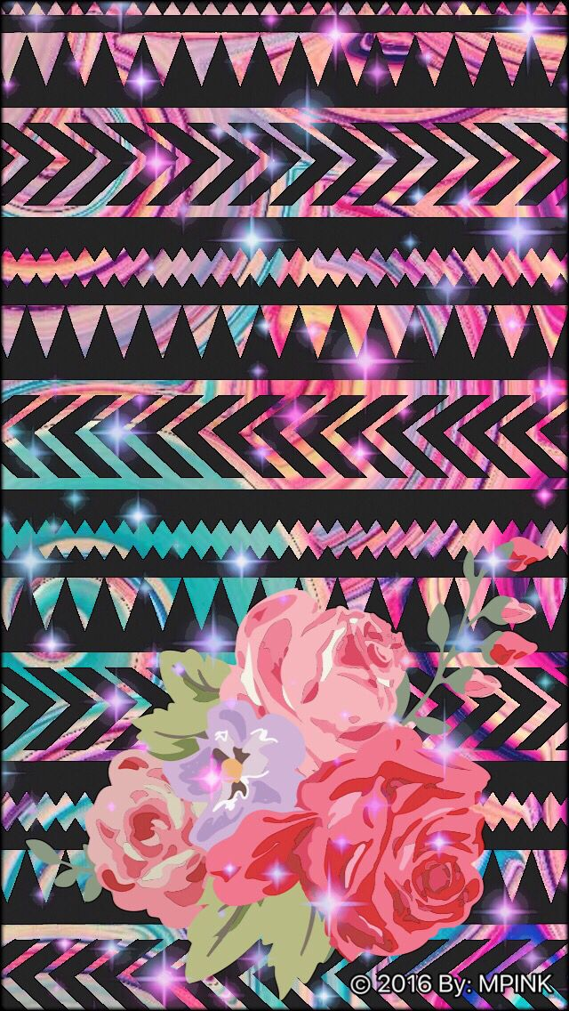 Boho Flower Wallpaper