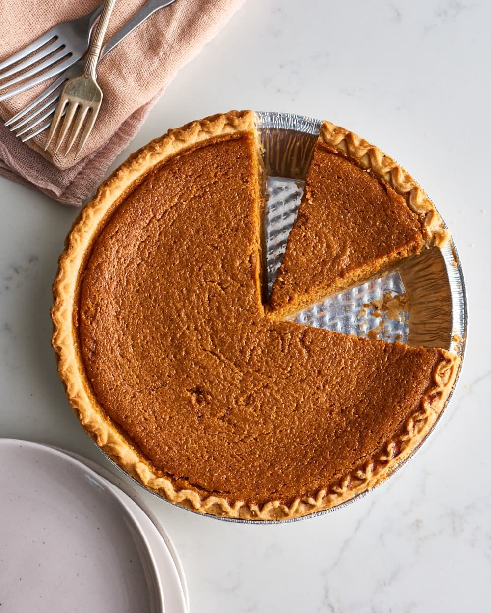 Julia Child Has a Clever Trick for Making the Best Pumpkin Pie Ever