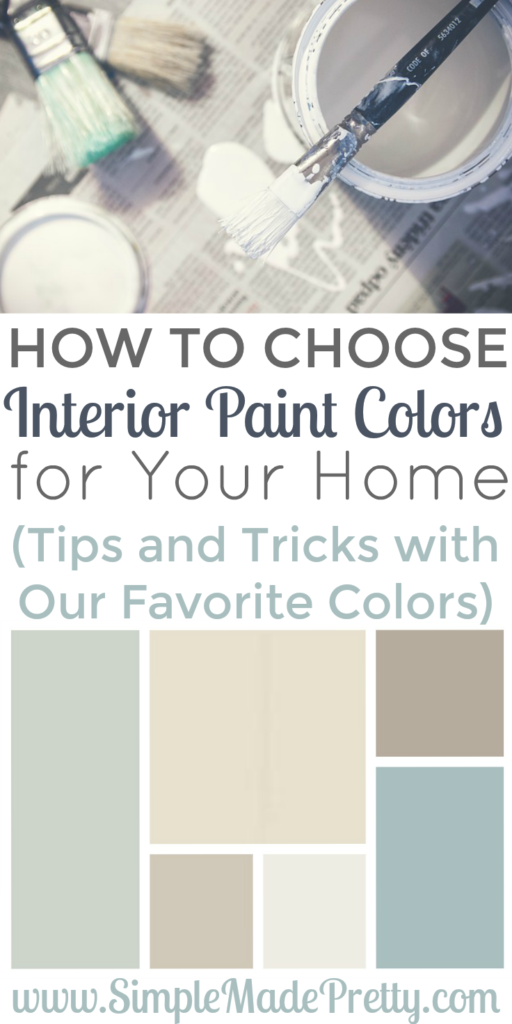 How To Choose Interior Paint Colors For Your Home Interiors House And Decorating: pick paint colors