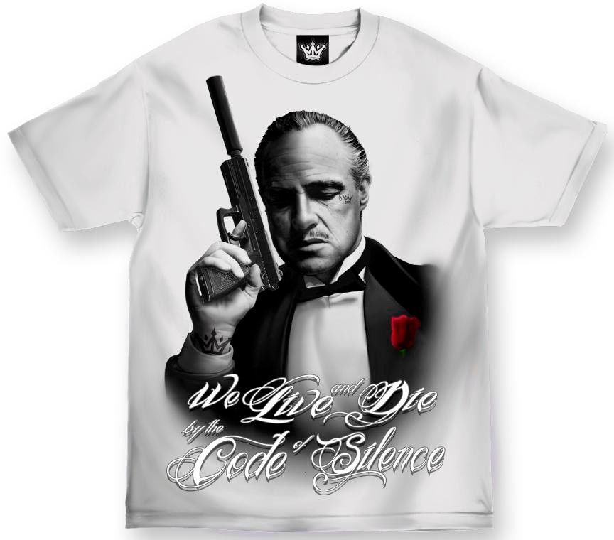 Mafioso Silencer Don Corleone T-shirt