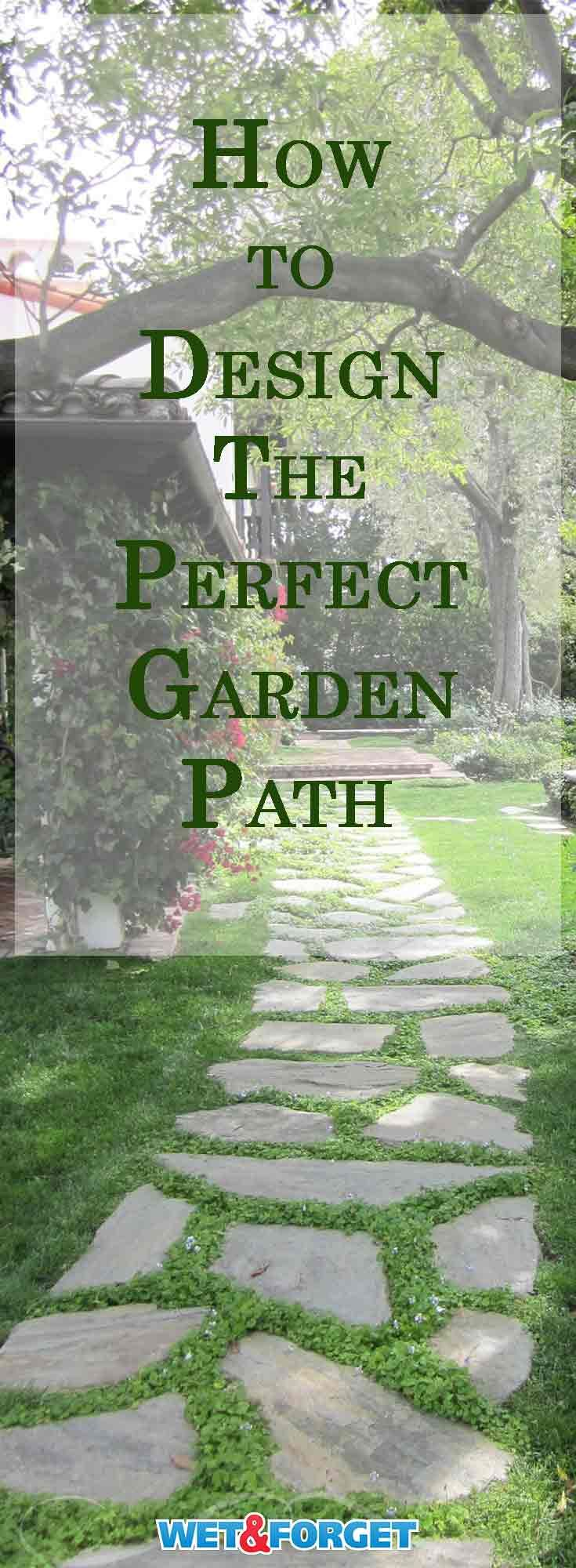 Down the Garden Path: Design the Perfect Path to Accent Your Property #gardenpaths