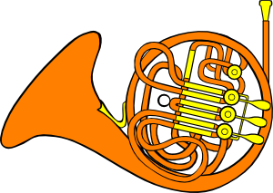 Free Vector French Horn Clip Art French Horn Free Clip Art Clip Art