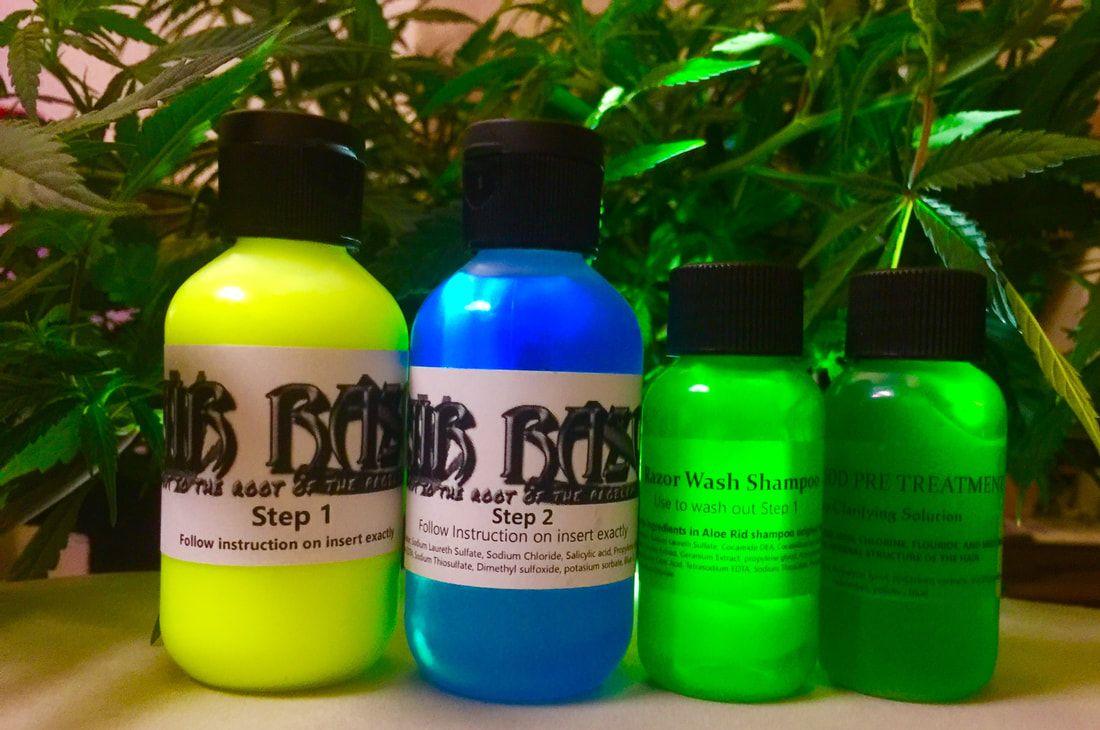Hair Razor Detox Single Set 20 treatments ( light use