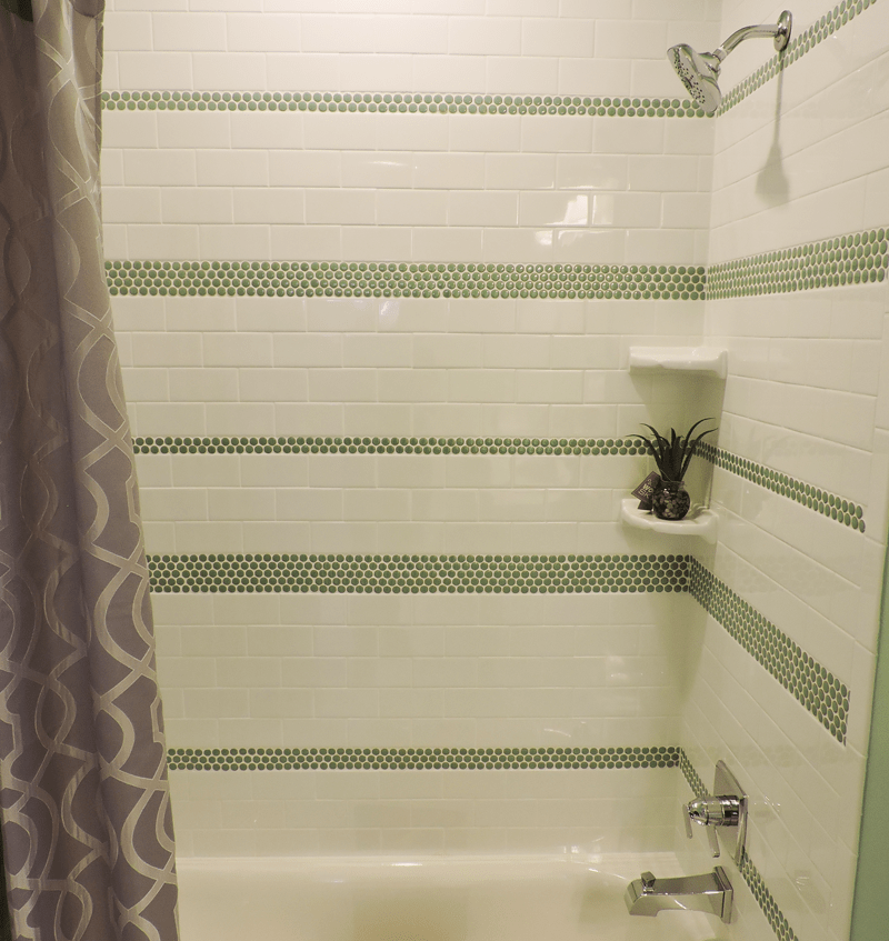 The perfect mosaic tile shower combinations | Examples of tiled ...