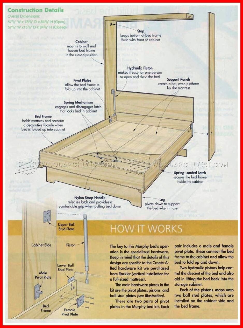 113 Reference Of Murphy Bed Design Plans Free Murphy Bed Diy Murphy Bed Plans Murphy Bed