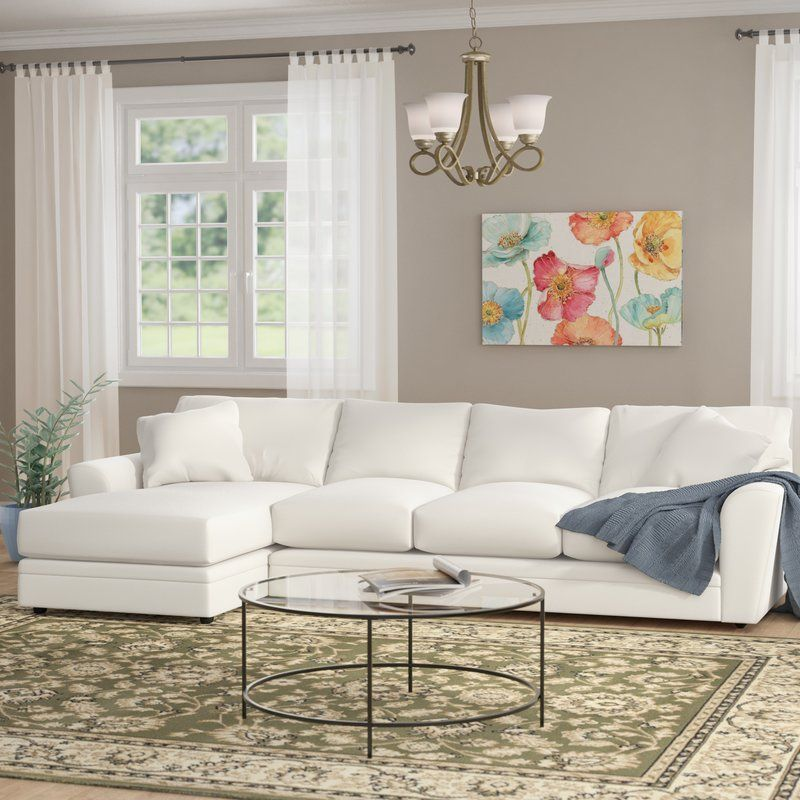 Greyleigh Coffee Sectional In 2019 Playroom Comfy Sectional Sectional Sofa Sofa