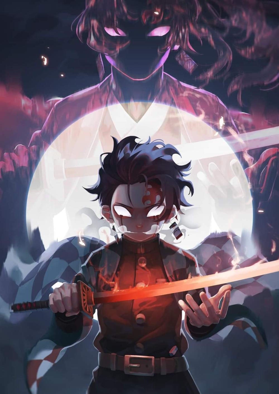 Fan Art Tanjiro Kamado Kimetsu No Yaiba Blogfanart Blogfanart In 2020 Anime Demon Anime Art Anime