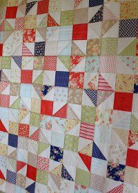 Avalon Scrappy Summer Quilt | Quilts I like | Charm pack