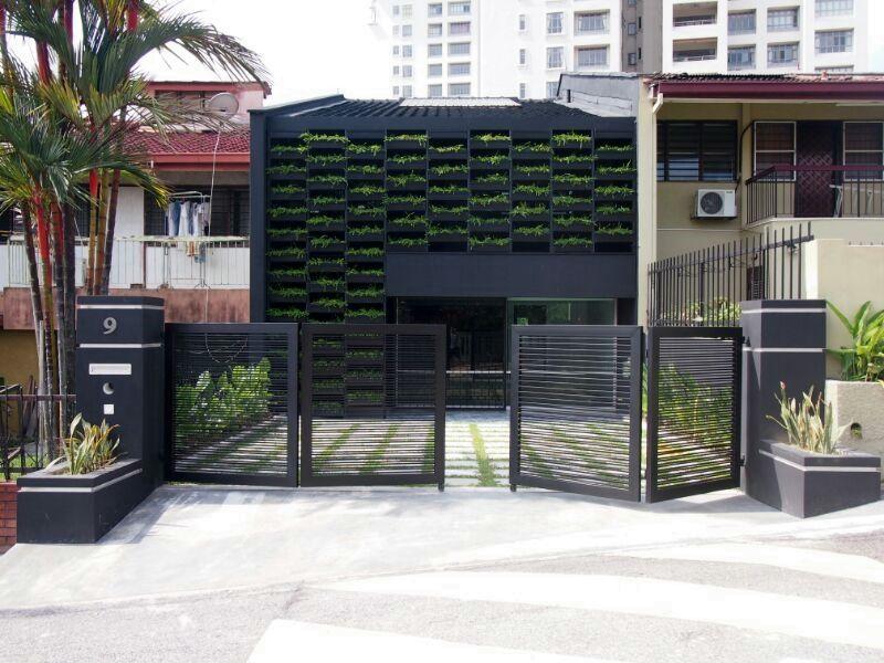 Malaysia terrace house interior design House interior