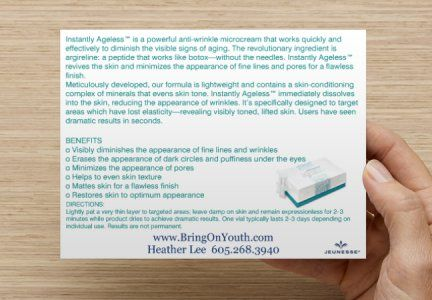 Instantly Ageless....Say Wha?!