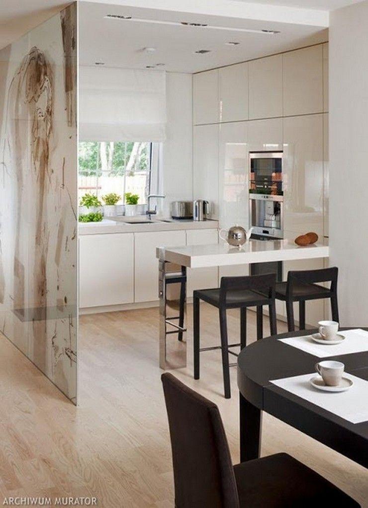 Grandes ideas para decorar cocinas peque as decoraci n - Fotos de cocinas pequenas y modernas ...