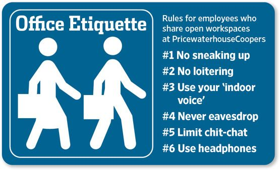 Warming Up To The Officeless Office Office Rules Etiquette
