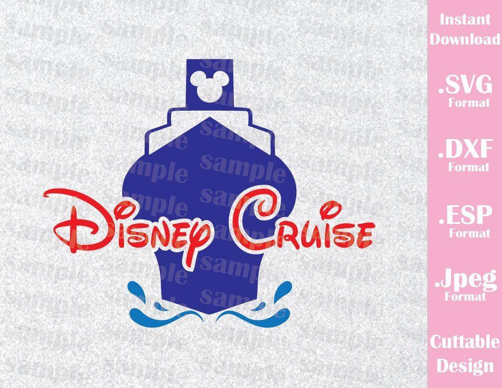 Disney Inspired Cruise Logo Family Trip Cruise Vacation