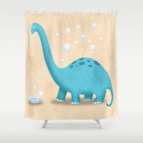 Wondrous Dinosaur Roar Kids Shower Curtain Alley Bathroom Little Download Free Architecture Designs Jebrpmadebymaigaardcom