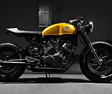 The world's most stylish Yamaha XV750 cafe racer?