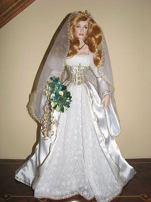 BEAUTIFUL IRISH BRIDE DOLL
