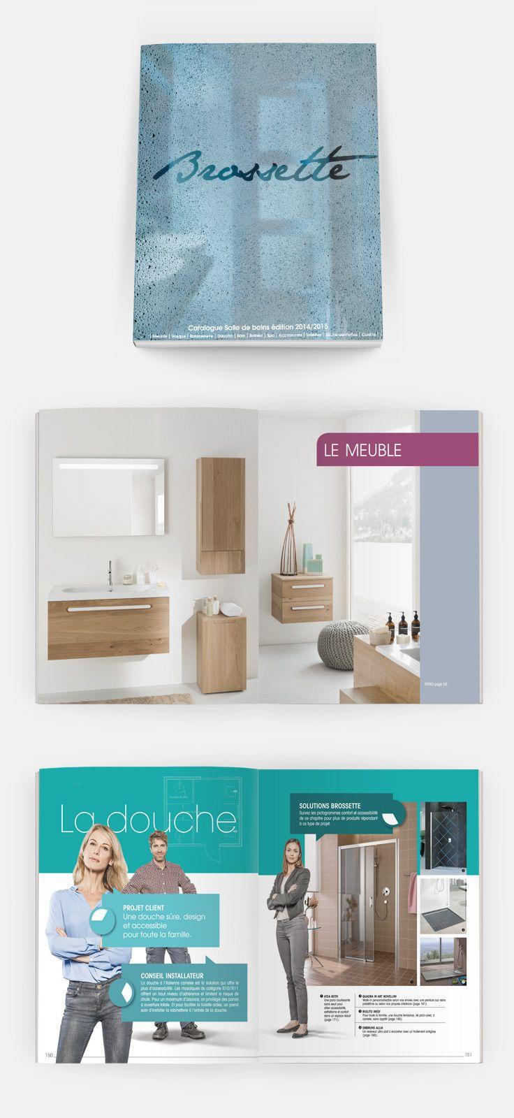 Les Nouveautes Salle De Bains 2014 A Decouvrir Dans Le Catalogue Brossette Ops2 Salle De Bain Salle Bains