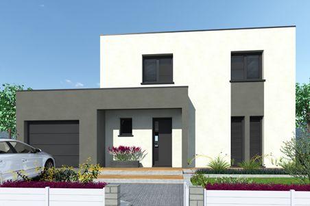 maison en pierre contemporaine toit plat u2026 Pinteresu2026