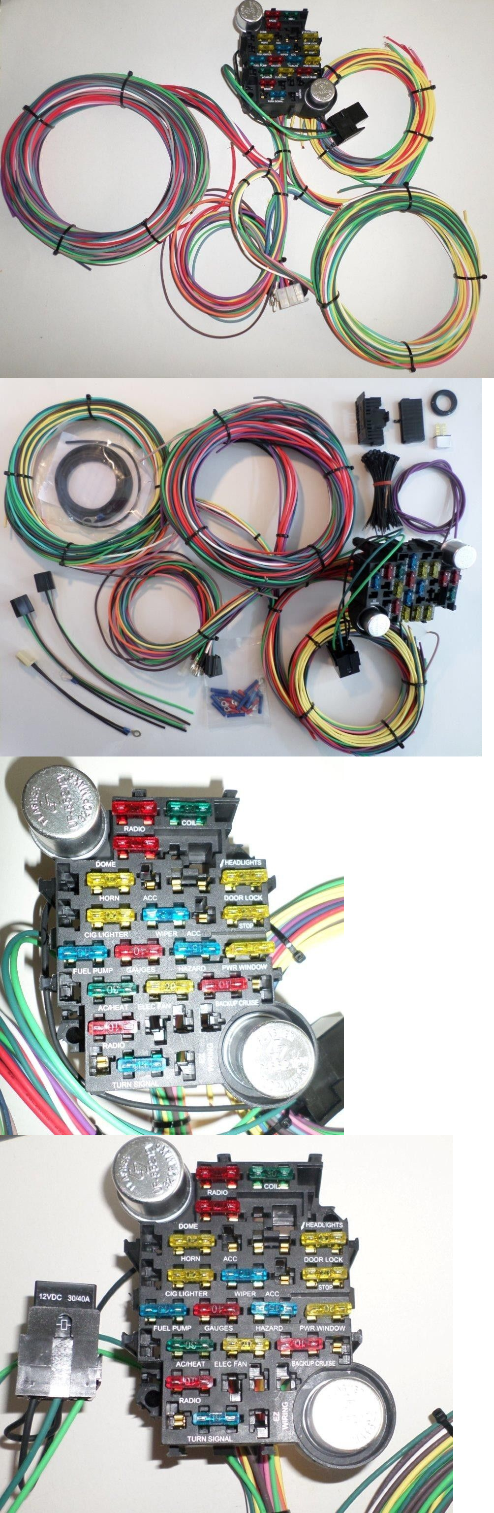 740418d052d65d4b545381b67aadc1a2 other car electronics accs 21 circuit ez wiring harness chevy mopar