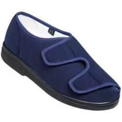 Photo of Verbandschuhe Unisex Promed Polyethylen-Velour Sanisoft Marineblau Größe 41 Promed