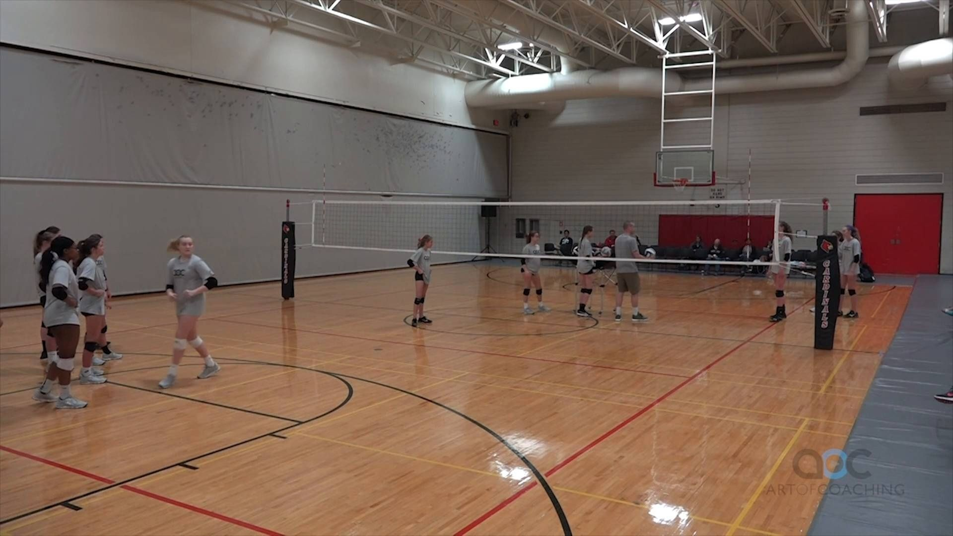 Attacking Drill For Young Players The Art Of Coaching Volleyball Coaching Volleyball Volleyball Drills Volleyball Workouts