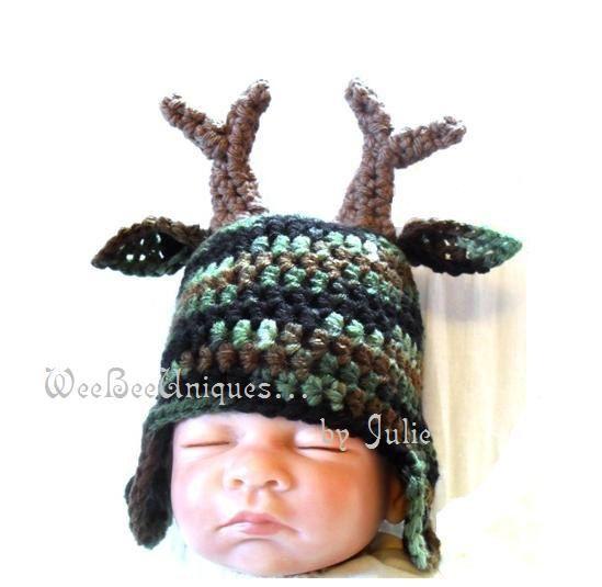 newborn deer hat photography prop on Etsy, $25.00