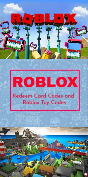 Roblox Redeem Codes 2019 March