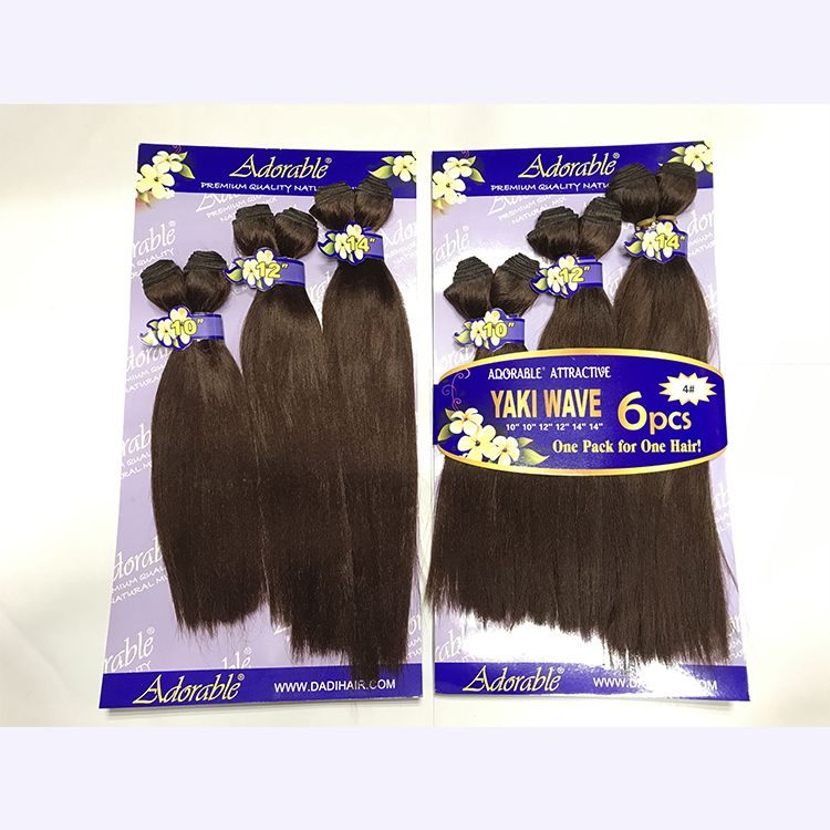 Adorable Hair Products Synthetic Yaki Straight
