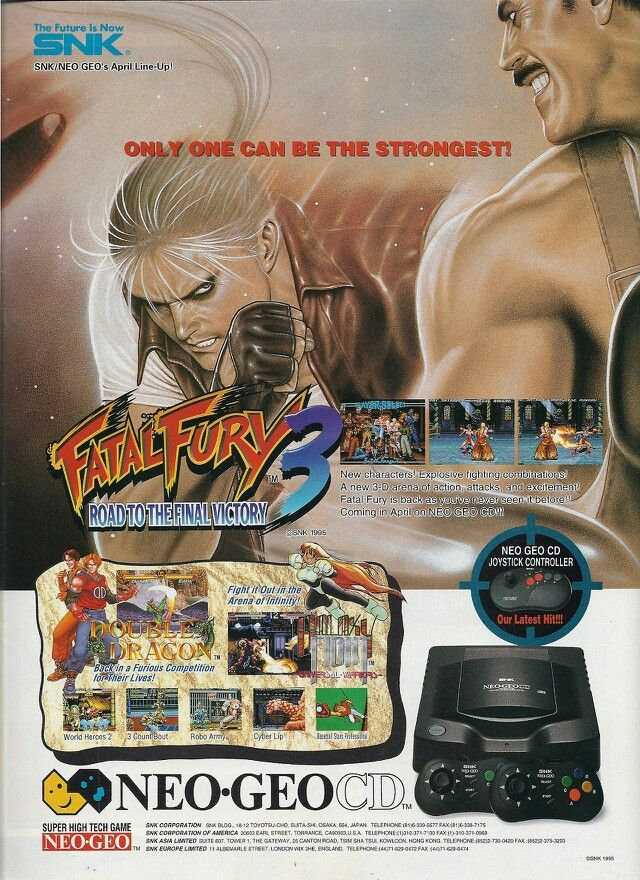 Fatal Fury 3 | Game Groups and Covers | Classic video games