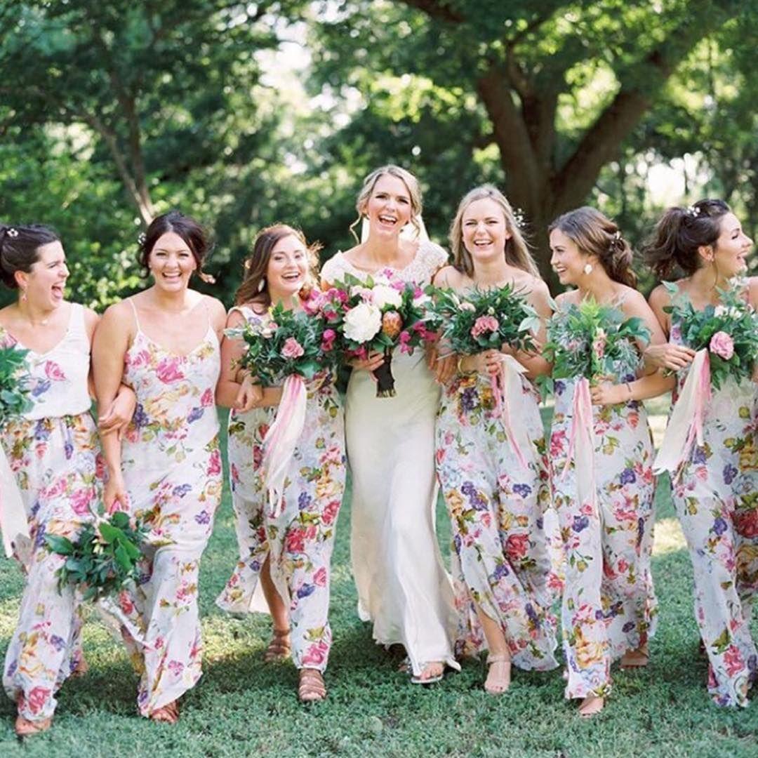 Best friend floral bridesmaid dresses mumuweddings pastel bridesmaid best friend floral bridesmaid dresses mumuweddings ombrellifo Image collections