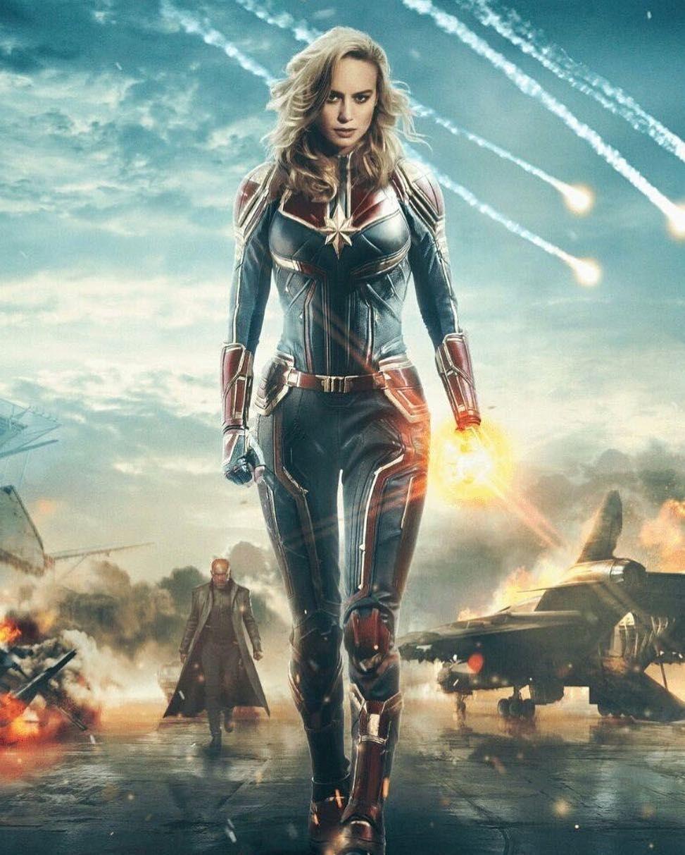 Free Download Captain Marvel Hd Wallpaper Artis Kpop
