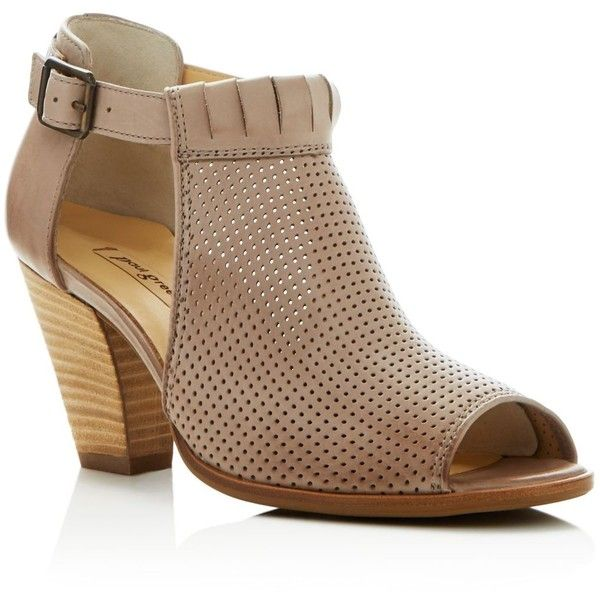 Paul Cutout Grün Colleen Perforated Peep Toe Cutout Paul Booties (360 ... 78d0f2