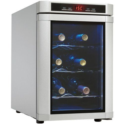 Danby Dwc620pl Sc 6 Bottle Wine Cooler Platinum By Danby 99 99