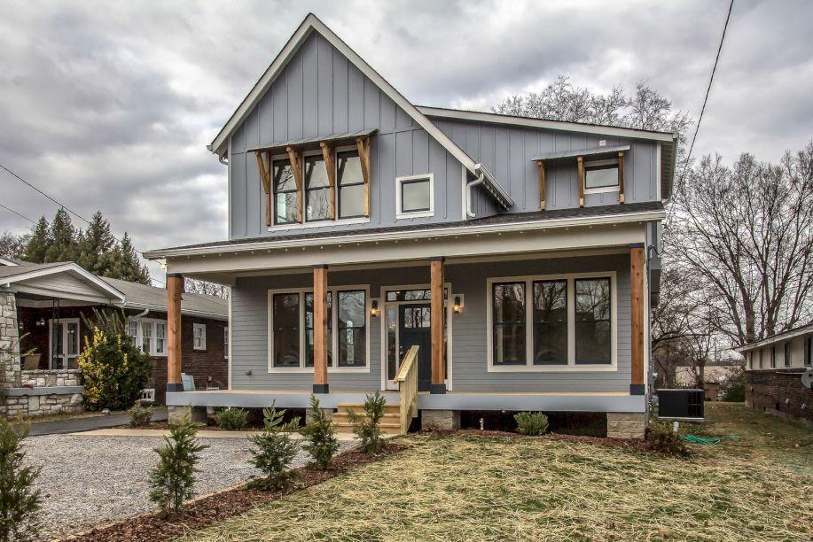 Modern Farmhouse Exterior Design Ideas 21 Modern