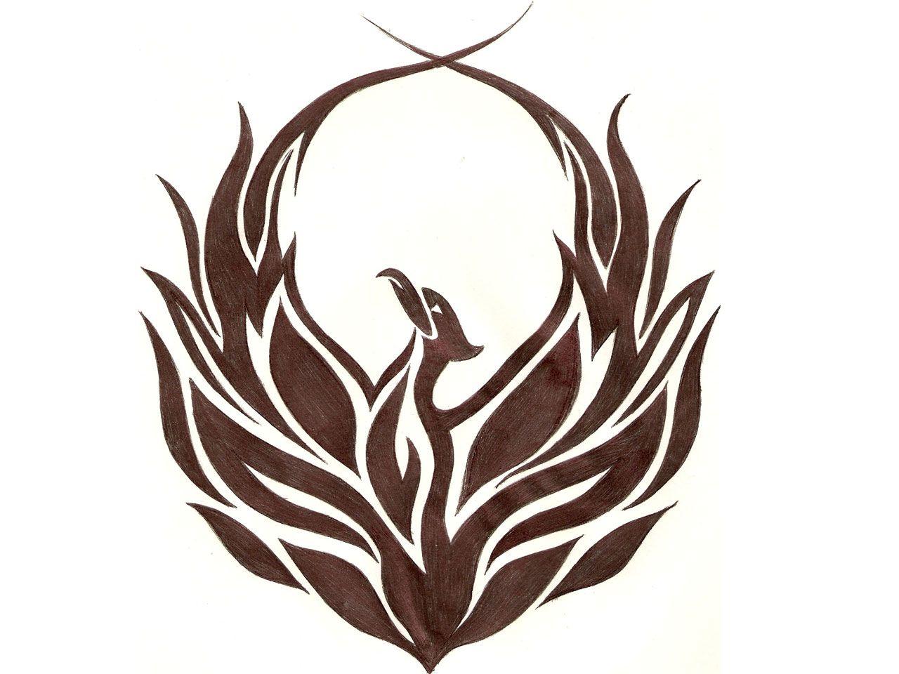 Phoenix tattoo for men - Phoenix Tattoo Tribal Phoenix Tattoo Idea Picture In Category Tribal Tattoos