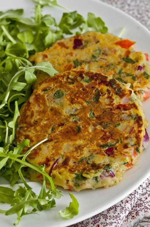 Tortillitas de tomate for Cenas faciles