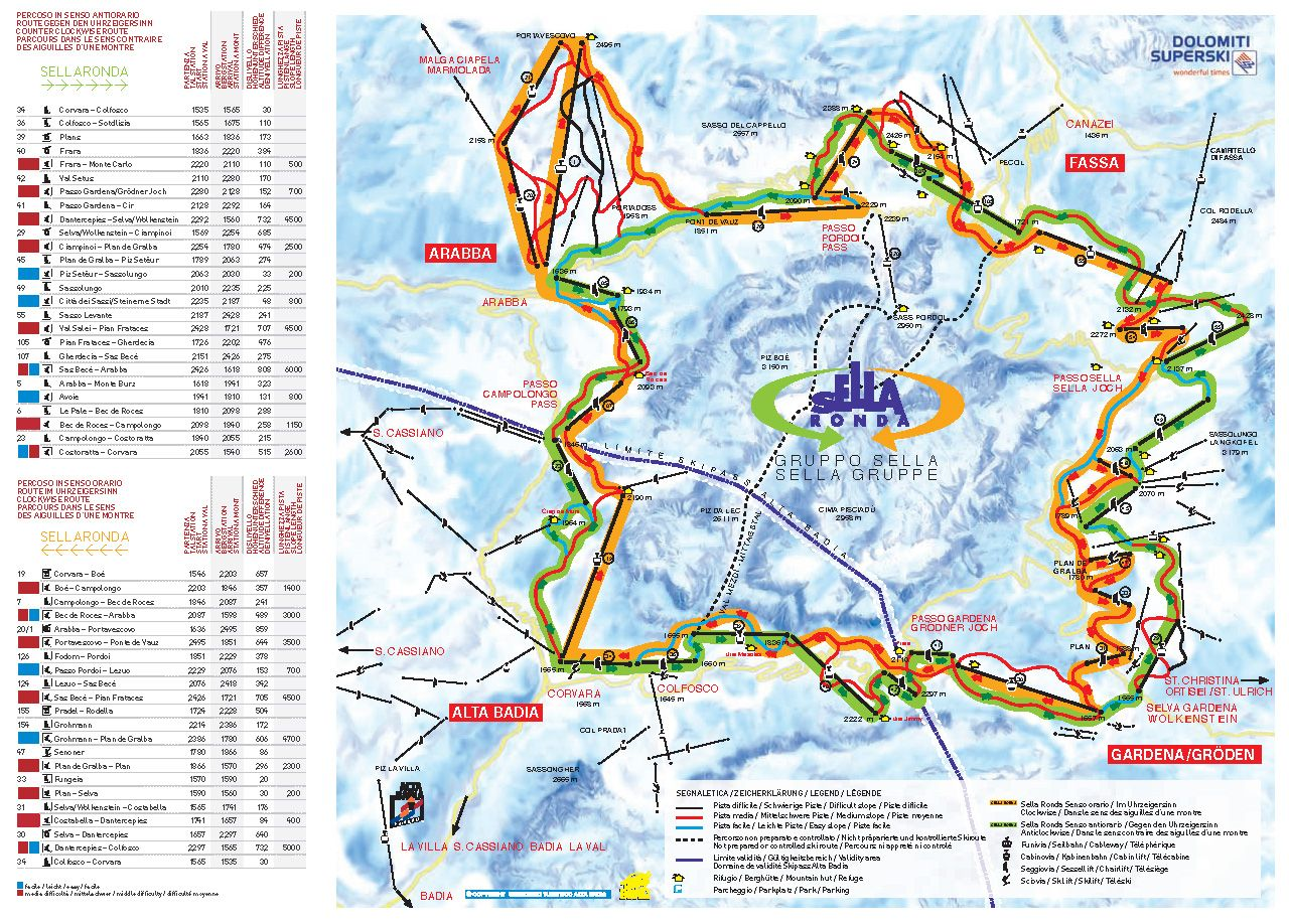 Image result for val di fassa piste map Piste Maps Pinterest