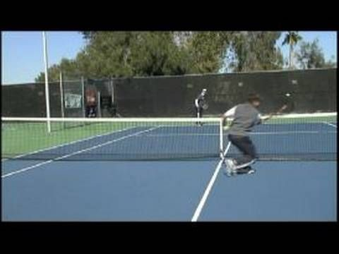 Tennis Doubles Strategy Returning Slices From Net In Doubles Tennis Tennis Doubles Tennis Tennis Drills