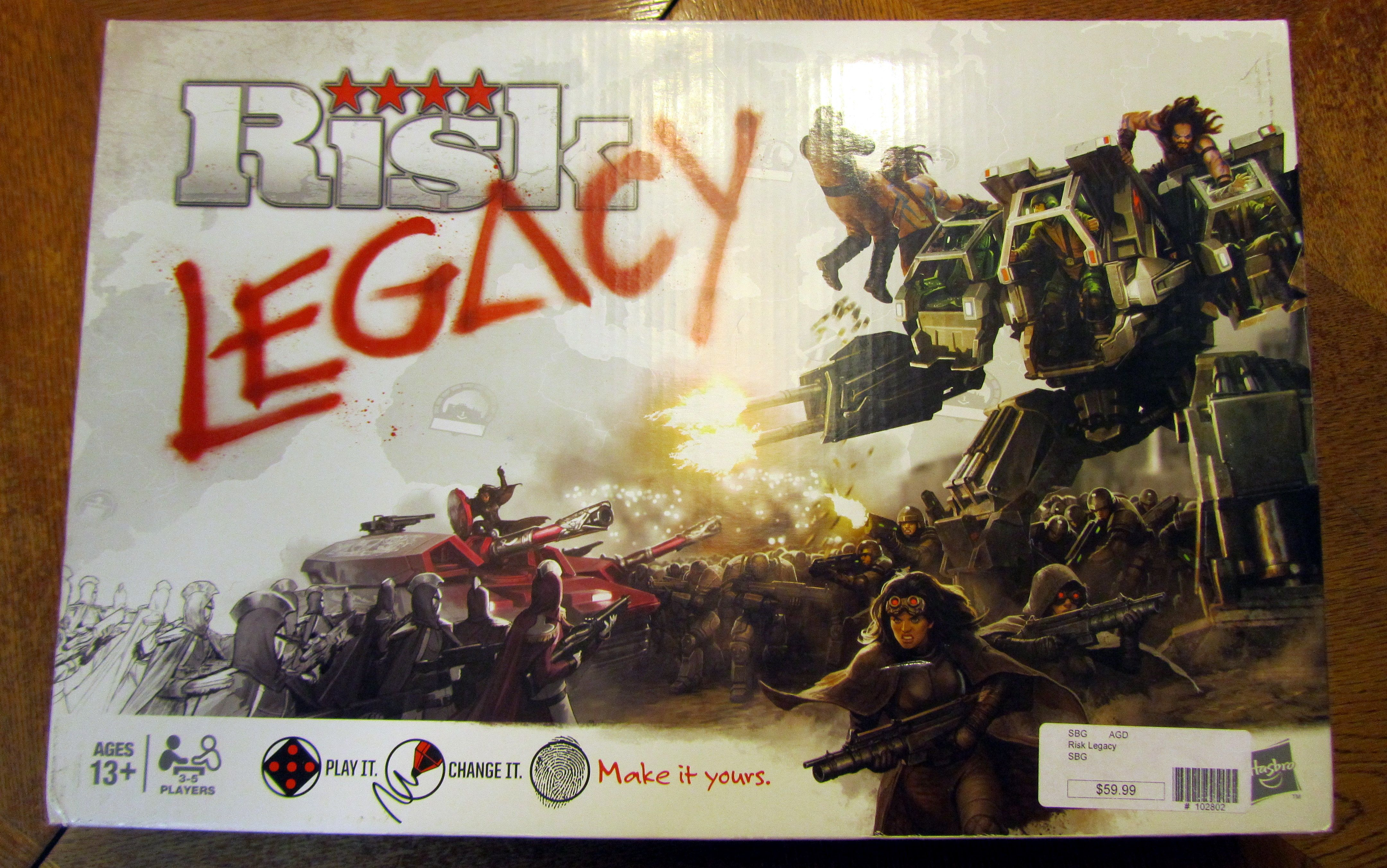 Great blog with a great review of Risk Legacy (spoiler