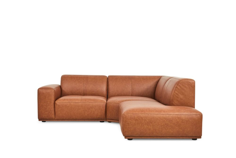 Todd Sectional Chaise Sofa Right Hand Facing Leather Saddle Tan Chaise Sofa Leather Sofa Buy Sofa