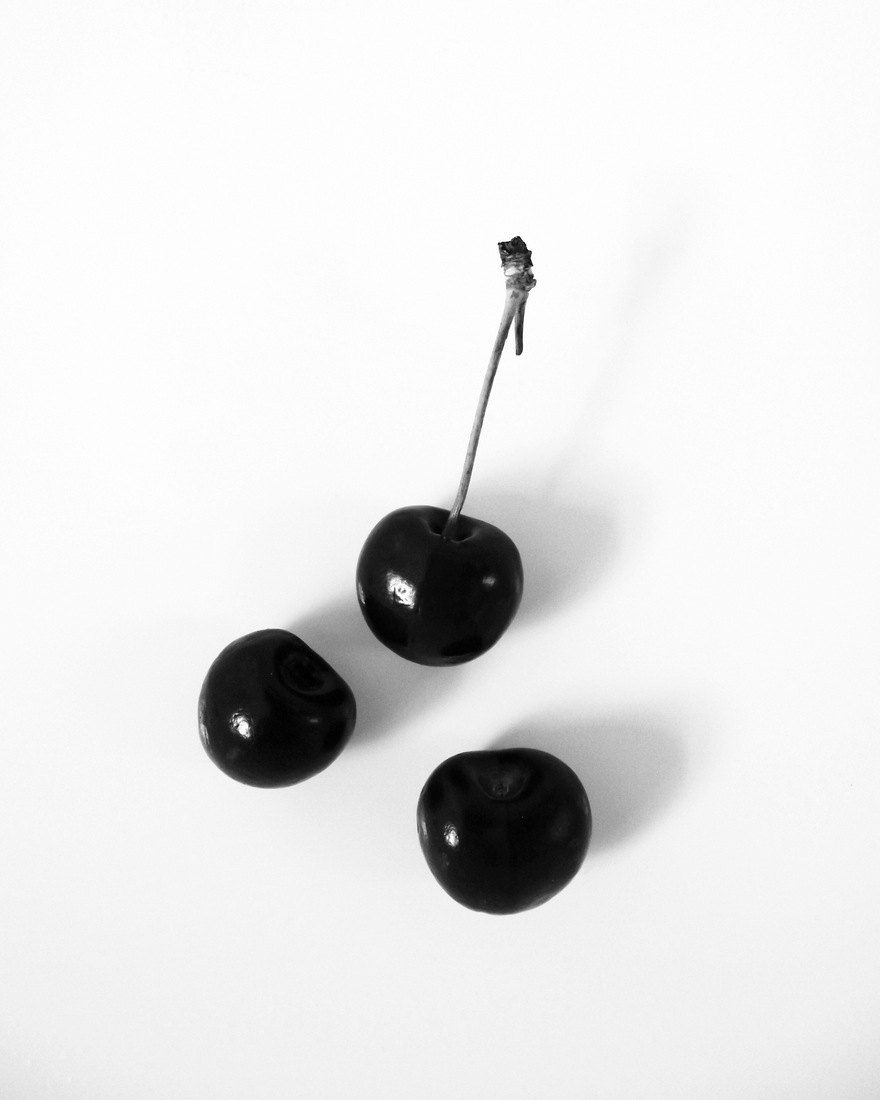 Black And White Pictures Of Cherries