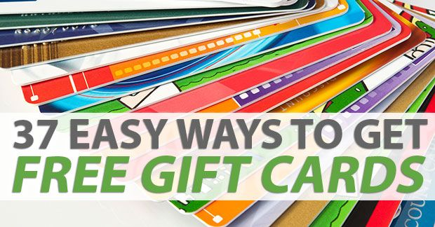 Photo of 37 Easy Ways To Get Free Gift Cards