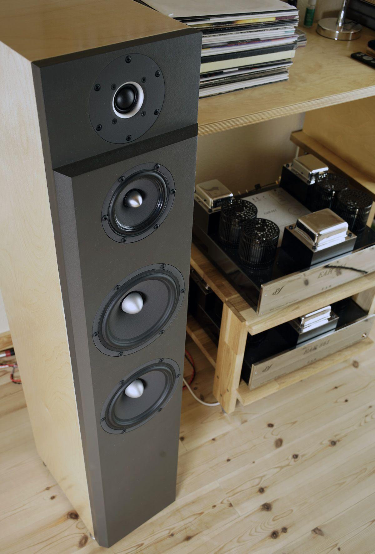 DIY loudspeaker from SEAS W18NX001 x2 + W12CY003