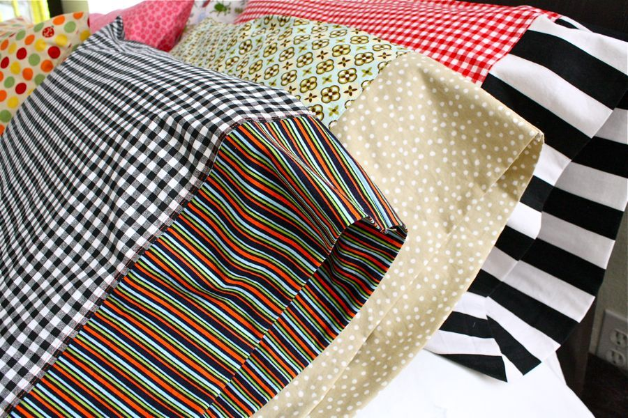 Conkerr Cancer Pillowcase Tutorial Conkerr Cancer Pillowcases These Are For A Good Cause But