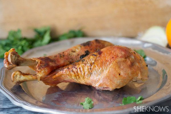A Perfect Recipe For Thanksgiving Pinterest Roasted Turkey Legs