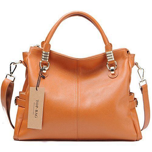 Jack Chris Womens Genuine Leather Tote Shoulder Handbag SF0951 Jack Chris Genuine  Leather Shoulder is a top quality pick in the most popular items bought ... 45e0b655f0ab4