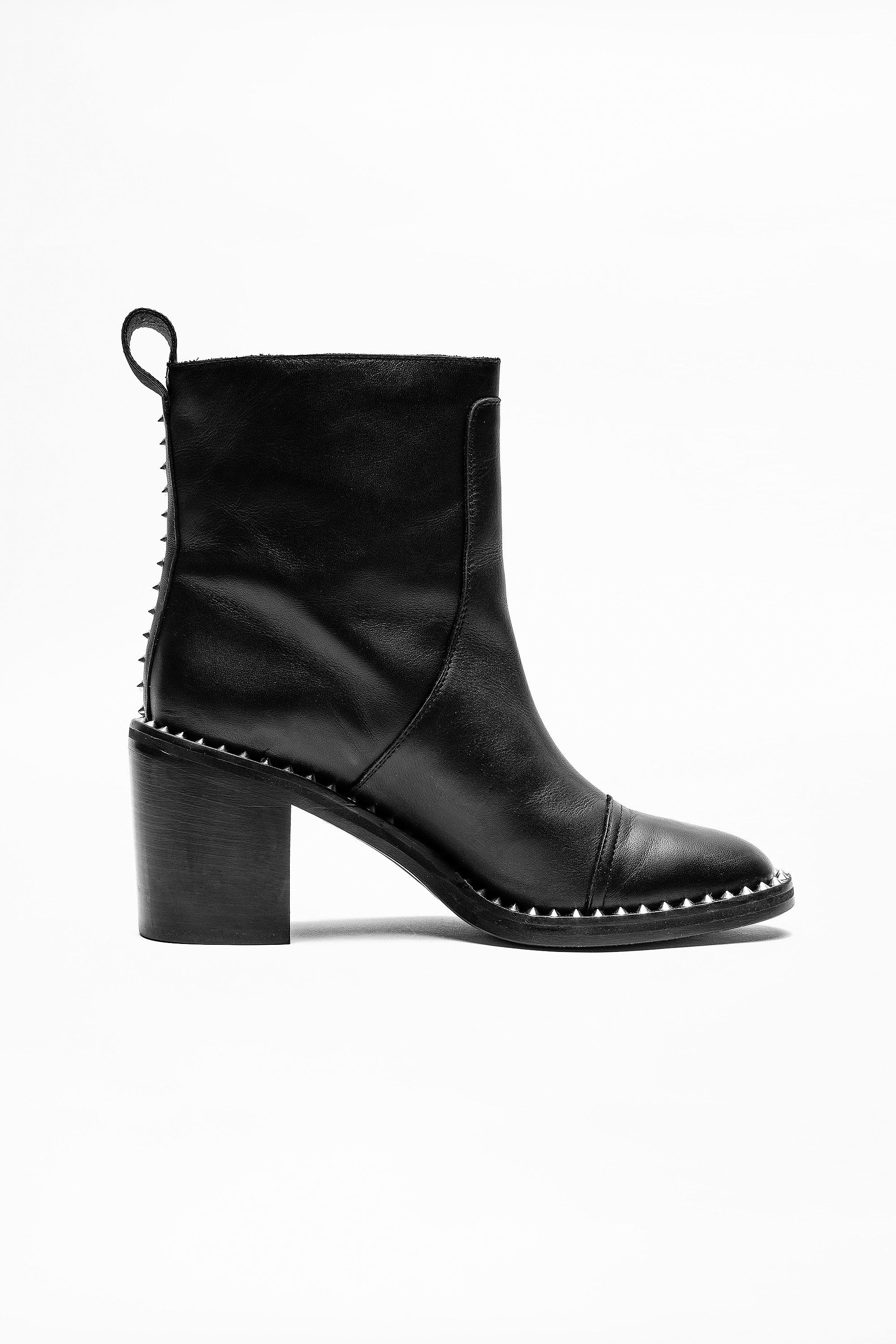 4f2ffdc7ae768 Crome Low Boots - boots women's | Zadig&Voltaire | zadig et voltaire ...