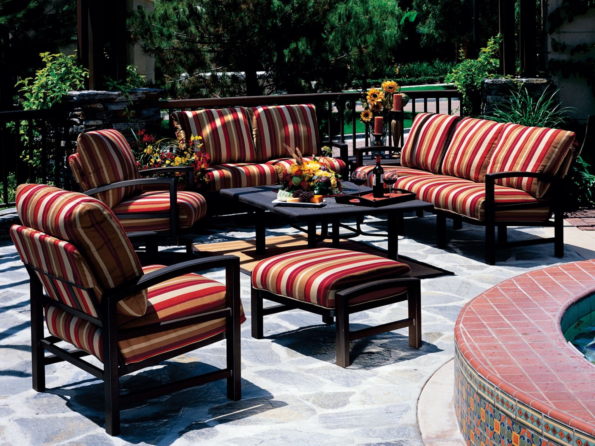 Tropitone Lakeside Deep Cushion Lounge Set LKCLS